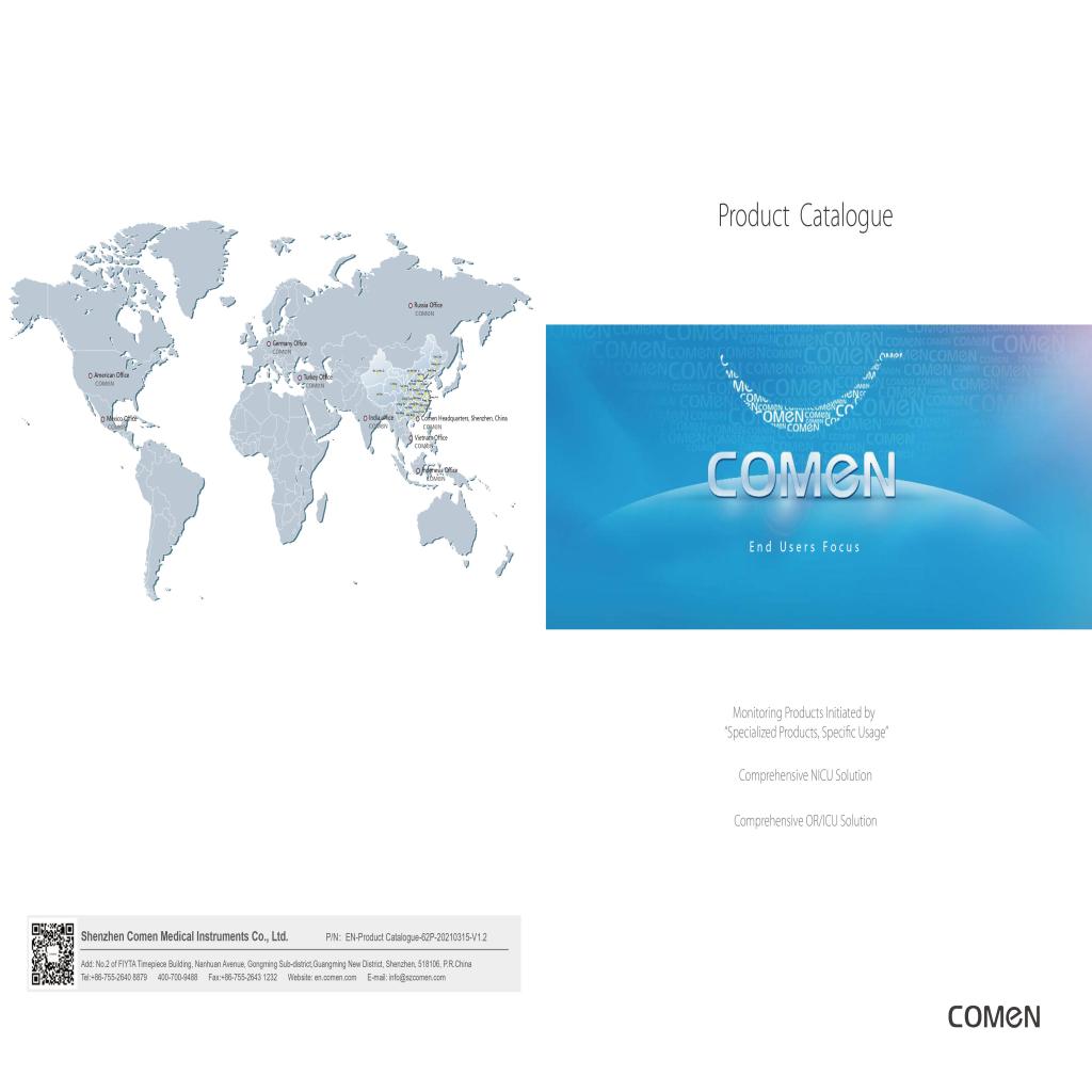 Comen Product Catalogue